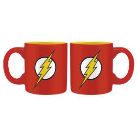 Set 2 mugs expresso Batman et Flash