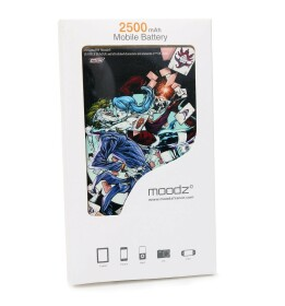 Batterie externe Joker Harley Quinn Kiss Android et IPhone 2500mAh
