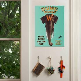 Poster Bombabouses de chez Weasley Farces pour Sorciers facétieux MinaLima