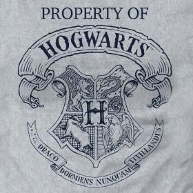 T-shirt Femme Poudlard Property of Hogwarts gris-chiné