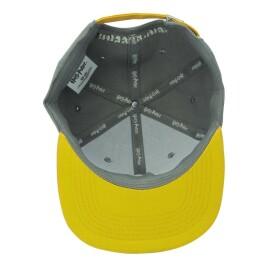 Casquette snapback Poufsouffle gris et jaune