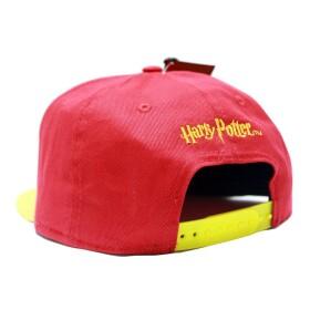 Casquette Gryffondor rouge et jaune visière plate