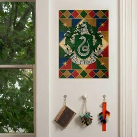 Poster Armoiries de Serpentard MinaLima