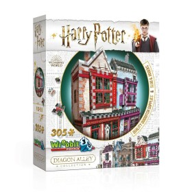 Boutiques Accessoires de Quidditch et Slug and Jiggers – puzzle 3D Wrebbit 305 pièces