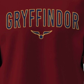 Sweatshirt Gryffondor Vif d'Or bordeaux