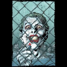 T-shirt The Joker Lipstick by Jim Lee