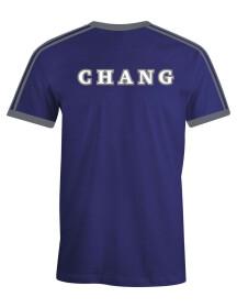 T-shirt Serdaigle bleu et gris Cho Chang