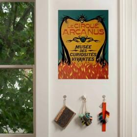 Poster affiche Le Cirque Arcanus MinaLima