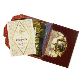 Lot de 20 cartes postales les couvertures de livres de Poudlard MinaLima