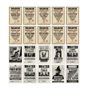 Lot de 20 cartes postales Ministère de la Magie MinaLima