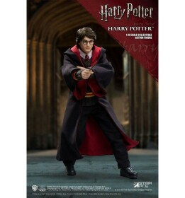 Figurine Harry Potter dans Harry Potter et la chambre des secrets Real Master Series 1/8 23 cm Star Ace