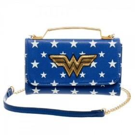 sac à main Wonder Woman petit format et portefeuille assorti