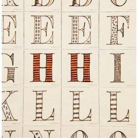 Lot de 63 magnets - Alphabet Harry Potter