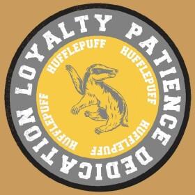 T-shirt Poufsouffle Loyalty Jaune