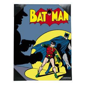 Toile imprimée Batman couverture vintage 30x40 cm