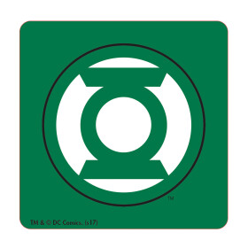 Set 4 Dessous de verre Batman Superman Flash Green Lantern
