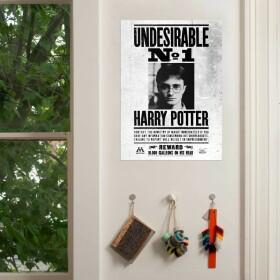 Poster Harry Potter Indésirable Numéro 1 MinaLima