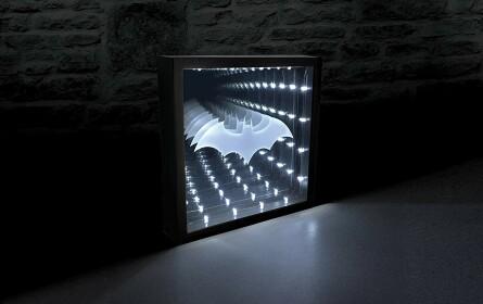 Lampe Batman logo infinie USB