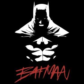T-shirt Batman Jim Lee Bat Noir