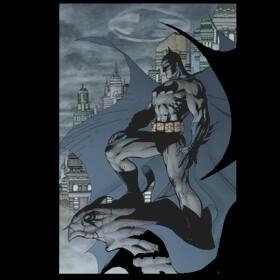 T-shirt Batman Batsignal by Jim Lee