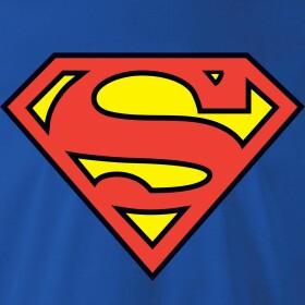 T-shirt Superman modèle enfant logo classique
