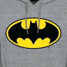 Sweatshirt Batman Logo Gris
