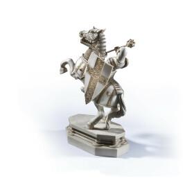 Serre-livres Cavalier blanc - Échiquier des sorciers - Défi final
