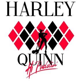 T-shirt Femme Harley Quinn Hi Puddin' blanc