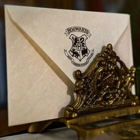 Set de papeterie Lettre d'acceptation à Poudlard