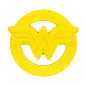 Anneau de dentition en silicone Wonder Woman pour bébé