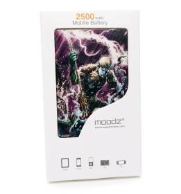 Batterie externe Aquaman Android et IPhone 2500mAh
