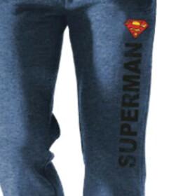 Jogging Superman logo