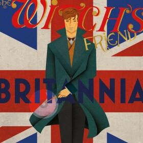 Poster L'Ami de la Sorcière Britannia Norbert Dragonneau MinaLima