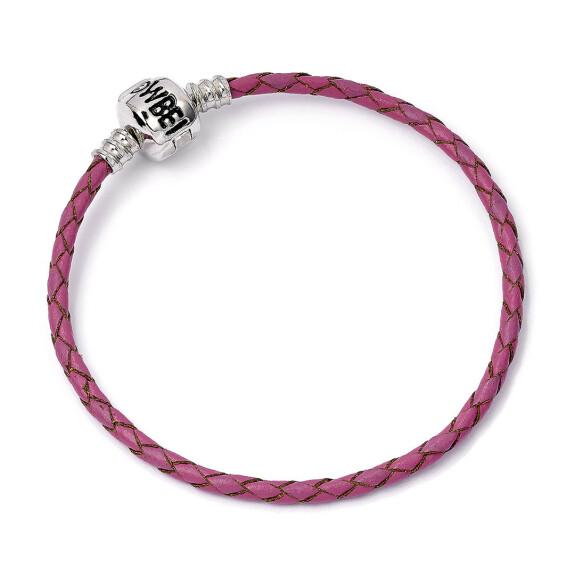 Bracelet Harry Potter en cuir rose