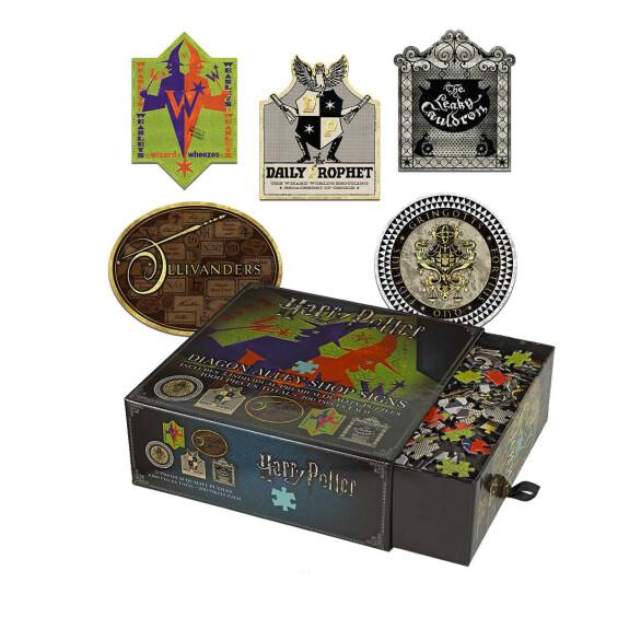 Les enseignes du Chemin de Traverse - puzzle 1000 pièces