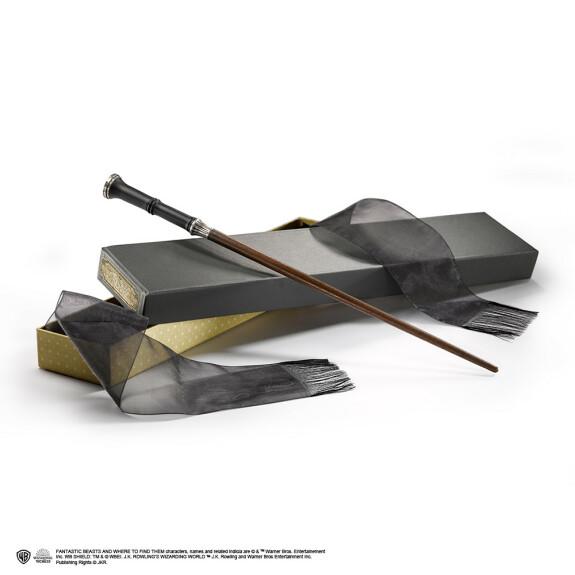 Baguette magique Yusuf Kama avec boîte Ollivander