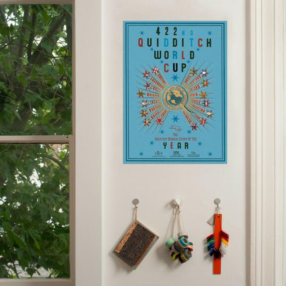 Poster Coupe du Monde de Quidditch MinaLima