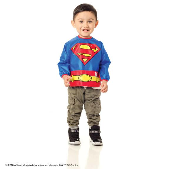 Bavoir tablier déguisement Superman