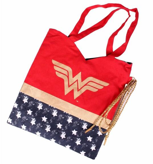 Tote bag Wonder Woman avec lasso d'Hestia