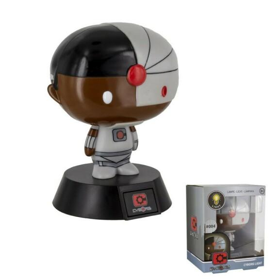 Lampe figurine Cyborg