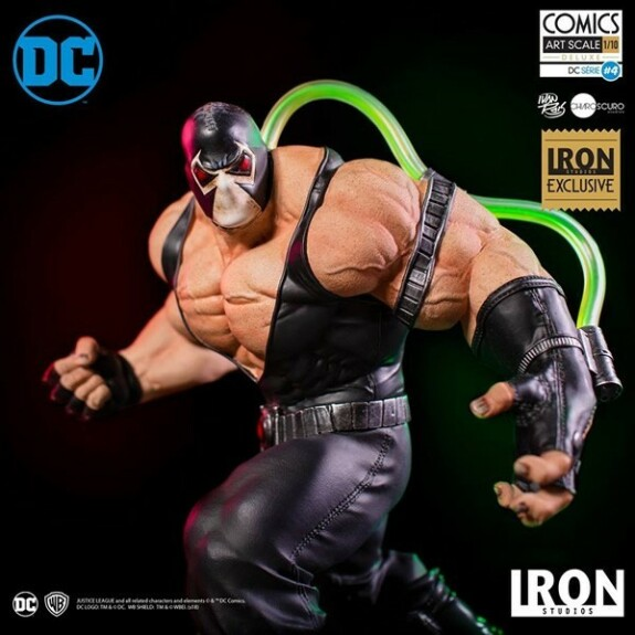 Bane by Ivan Reis CCXP 2018 Exclusive 22cm Iron Studios 1/10
