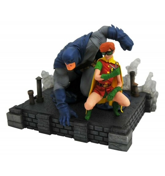 Figurine Batman et Robin PVC Frank Miller The Dark Knight returns Diamond Select DC Gallery 20cm