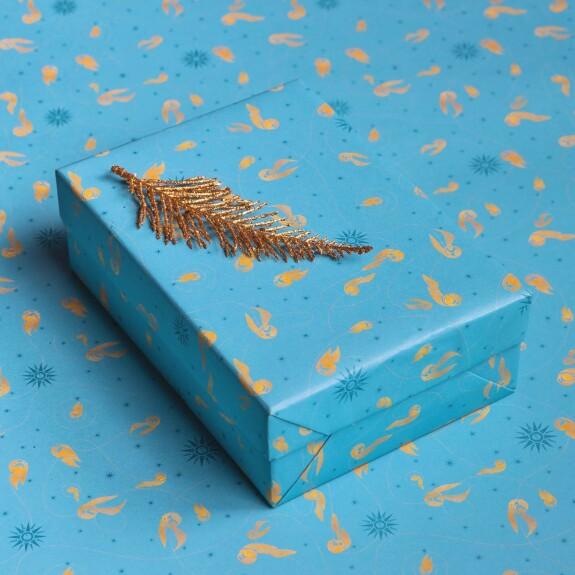 Papier cadeau Quidditch