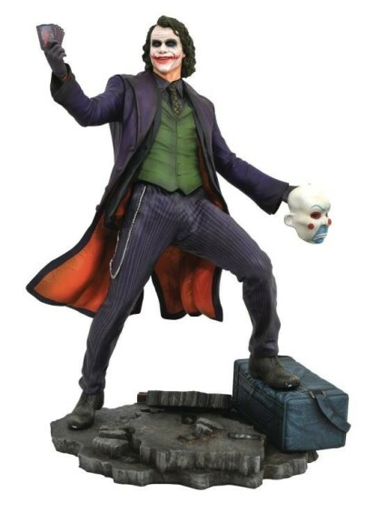 Le Joker Figurine PVC The Dark Knight Diamond Select DC Gallery 23cm
