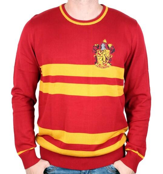 Pullover Gryffondor uniforme école rouge