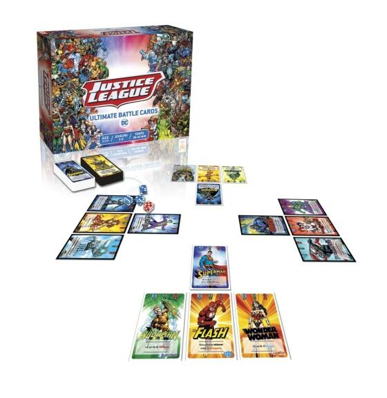 Justice Leagues, Ultimate Battle Cards