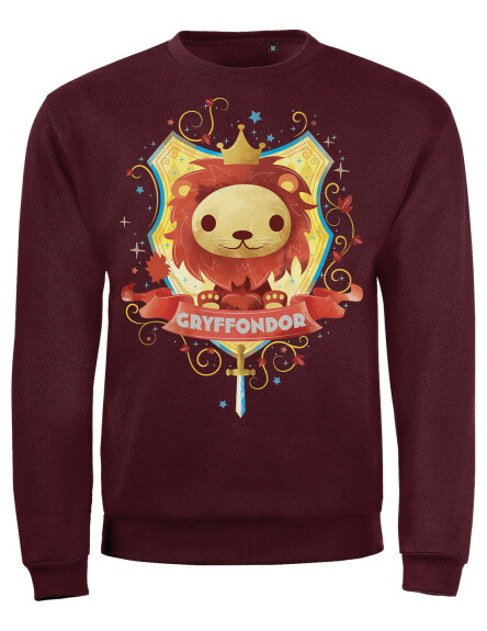 Sweat-shirt Enfant Chibi Gryffondor