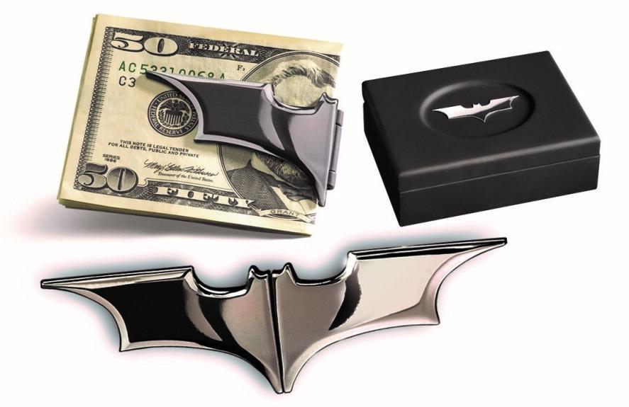 Pince à billets Batarang noir chromé