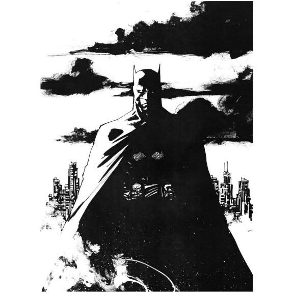 T-shirt Batman Dark Cloud Night by Jim Lee