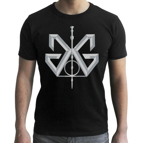 T-shirt Grindelwald et Baguette de Sureau noir
